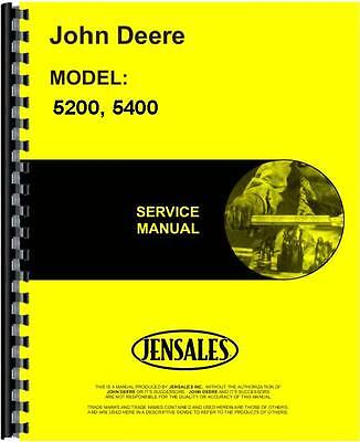 John Deere Forage Service Manual 5200 Forage 5400 Forage