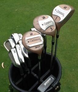 Golf Clubs RH men's full set + bag & Putter Cheap starter set Bundoora Banyule Area Preview