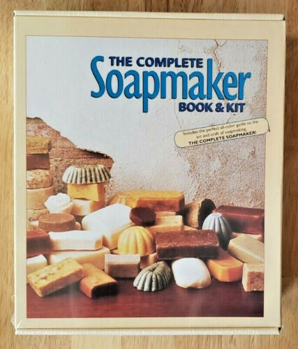 The Complete Soapmaker Book and Kit ~ Step-By-Step Guide with Supplies ~ NEW!