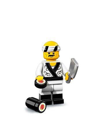 LEGO The Ninjago Movie Series Sushi Chef Minifigure 71019 New Sealed