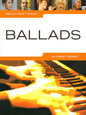 Really Easy Piano: Ballads Noten Klavier leicht