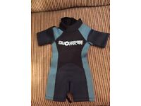 Child's wet suit age 2-3 tags on