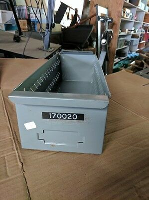 Metal Steel Small Parts Storage Drawers 6 Pack Of Steel Shelf Boxes 8117 Lyon