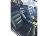 £500 MERCEDES W124 E280 WHITE BLACK 5 SEATER RECARO LEATHER PROJECT/SPARES/REPAIRS/SHOWCAR