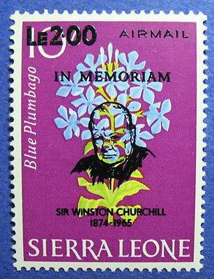 1965 SIERRA LEONE 2L SCOTT# C41 SG# 376 UNUSED CS06150