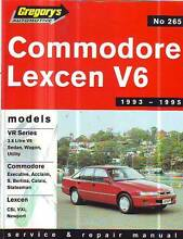 HOLDEN COMMODORE VR Workshop Service Manual******1996 Sefton Bankstown Area Preview