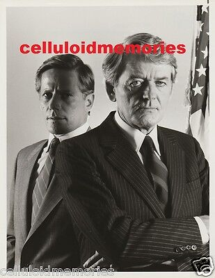 Original NBC Photo Under Siege Hal Holbrook Peter Strauss 1-17-86