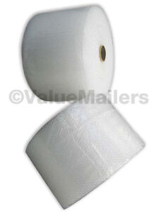 Small Bubble Wrap 300 Ft 12 Inches Wide 3/16 Size Bubbles 2 rolls 150' VM Brand