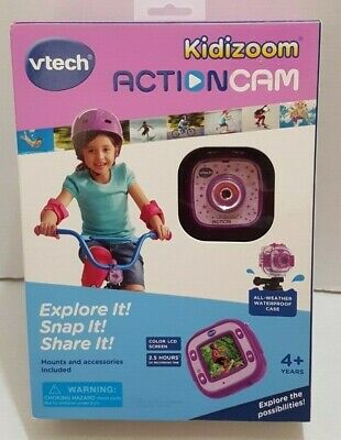 VTech Kidizoom Action Cam Purple with Weatherproof Case 80-170710 for sale  Shipping to India