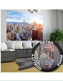 Huge poster New York skyline