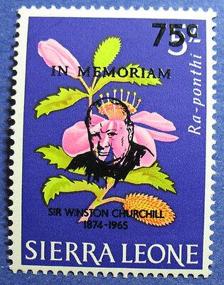 1965 SIERRA LEONE 75C SCOTT# 305 S.G.# 371 UNUSED CS08068