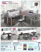 New Desks for Less - Collaborative Benching Application