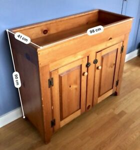 Antique dry sink/cupboard