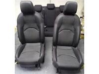 Seat leon FR cupra red stitched half leather seats hatchback mk3