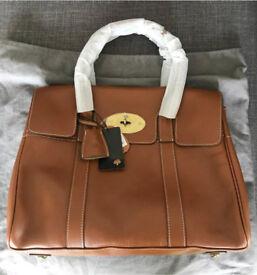 Tan Handbag leather brand new