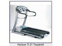 Horizon ti21 folding treadmill