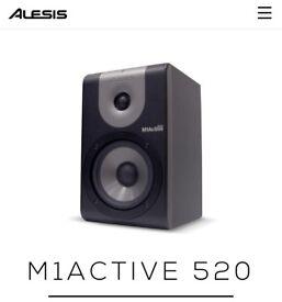 Alesis M1Active 520 studio quality speakers