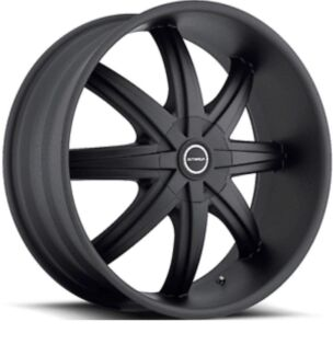 24inch Stada Magia black wheels and tyres