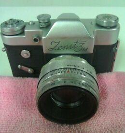 VINTAGE Zenith 3M camera very rare.