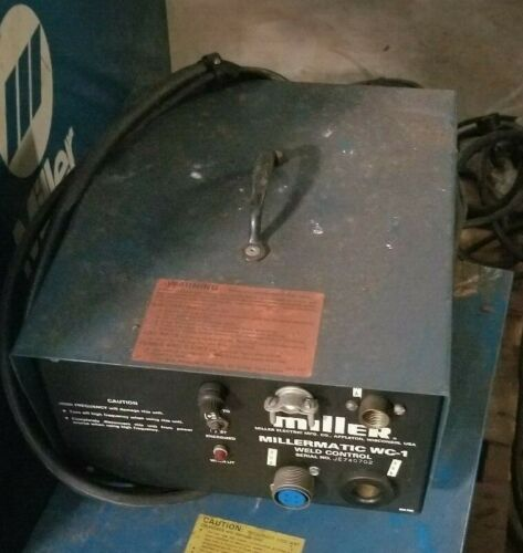 Miller Millermatic Weld Controller Model #: WC-1
