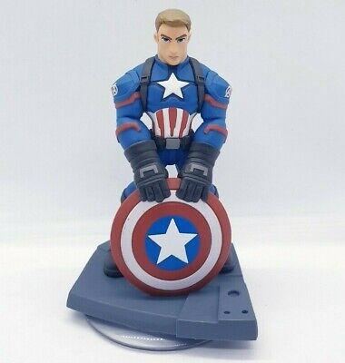 Disney Infinity 3.0   Captain America Figure   Battlegrounds   The First Avenger