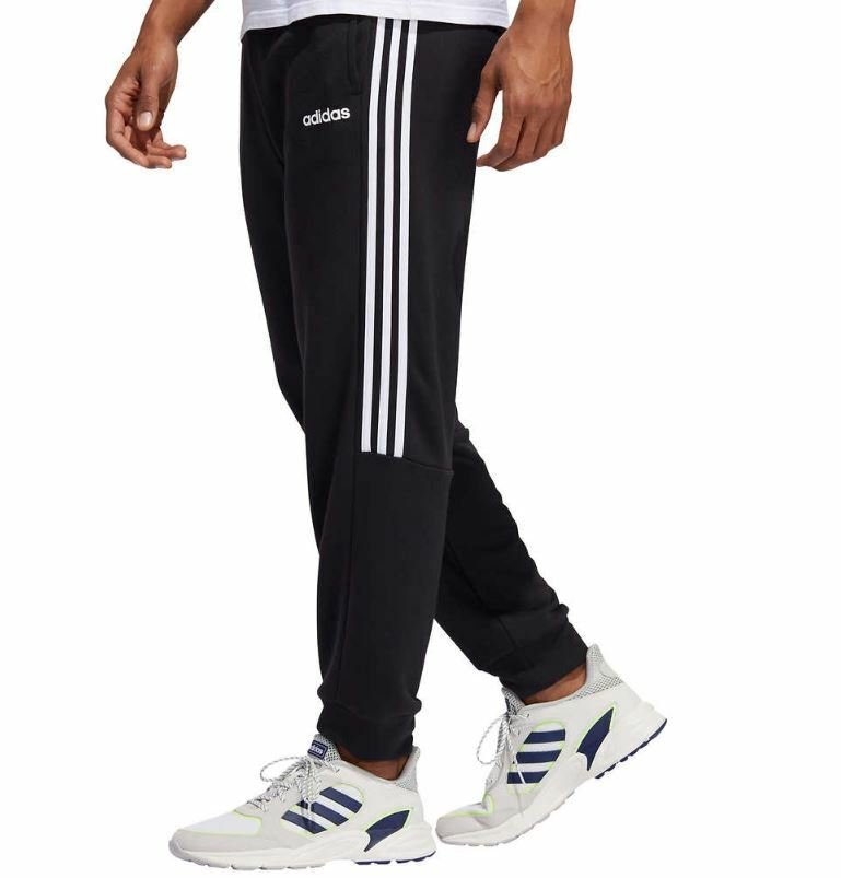 *NEW* Adidas Men's 3 Stripe French Terry Jogger