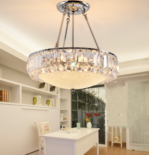 Modern Crystal Glass Chandeliers Home Pendant Lamps Ceiling Lighting Fixtures Ebay