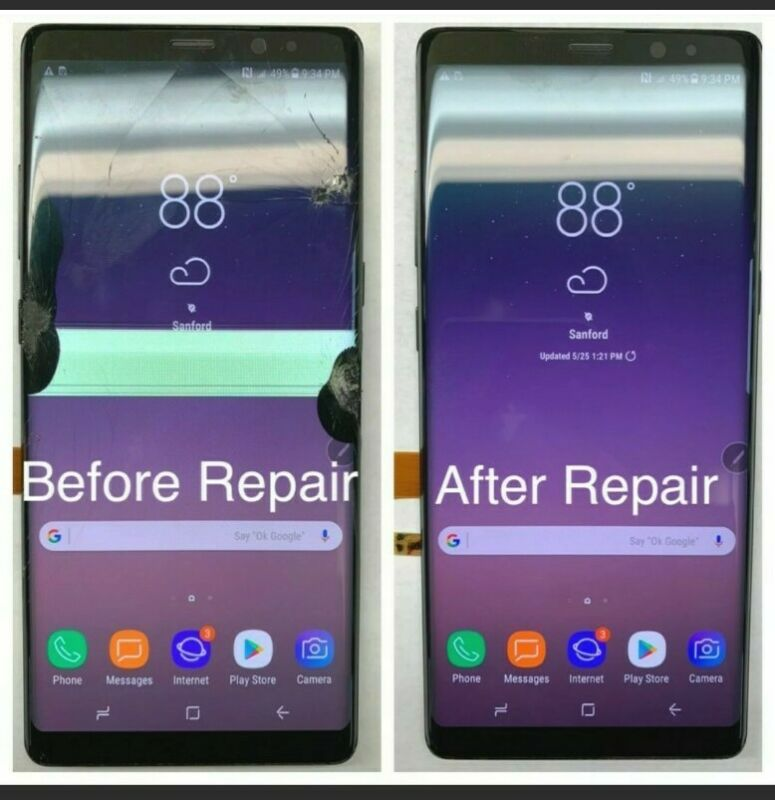 Samsung Galaxy Note 9 N960 Complete Lcd Digitizer Screen Replacement Service
