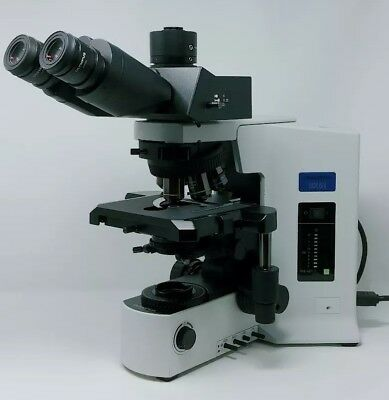 Olympus Microscope Bx51 With Apos And Super Wide Trinocular Head