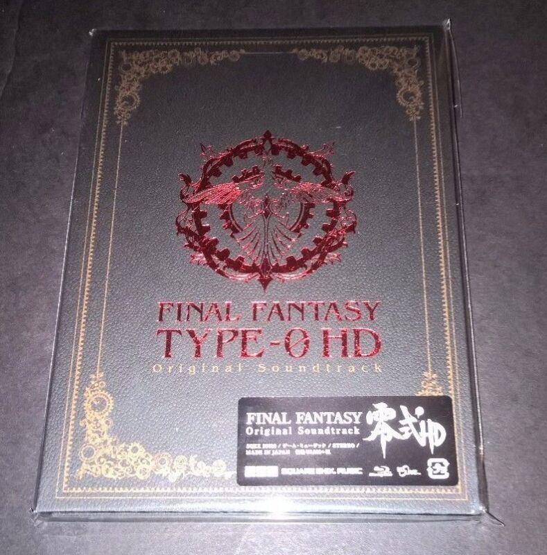 FINAL FANTASY TYPE-0 HD Game Music Soundtrack CD Square Enix JP