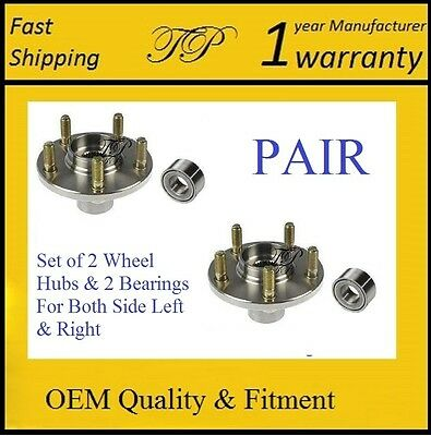 Front Wheel Hub & Bearing Kit For Acura RSX (Type S) 2002-2006 (PAIR)
