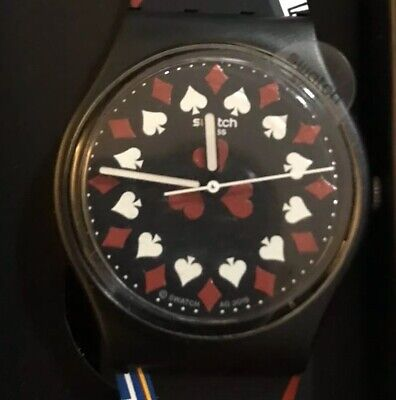 Swatch 007 James Bond Casino Royale Watch - NEW GZ328