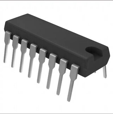Ic 74ls395pc Shift Register 4-bit With 3-state Outputs Ttl Pdip16 Fsc 10pcs