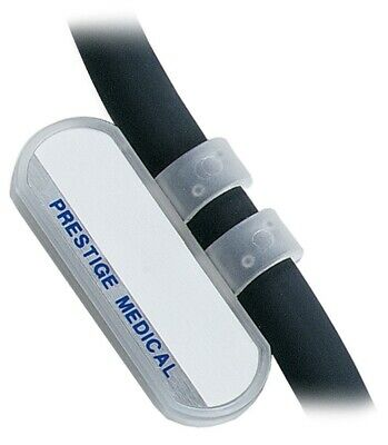 Prestige Medical Clear Stethoscope Id Name Tag