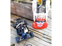 RC Radio controlled *Genuine* Losi 5ive (5 / five) 1/5th scale ( petrol 4WD car ) + lots of spares.