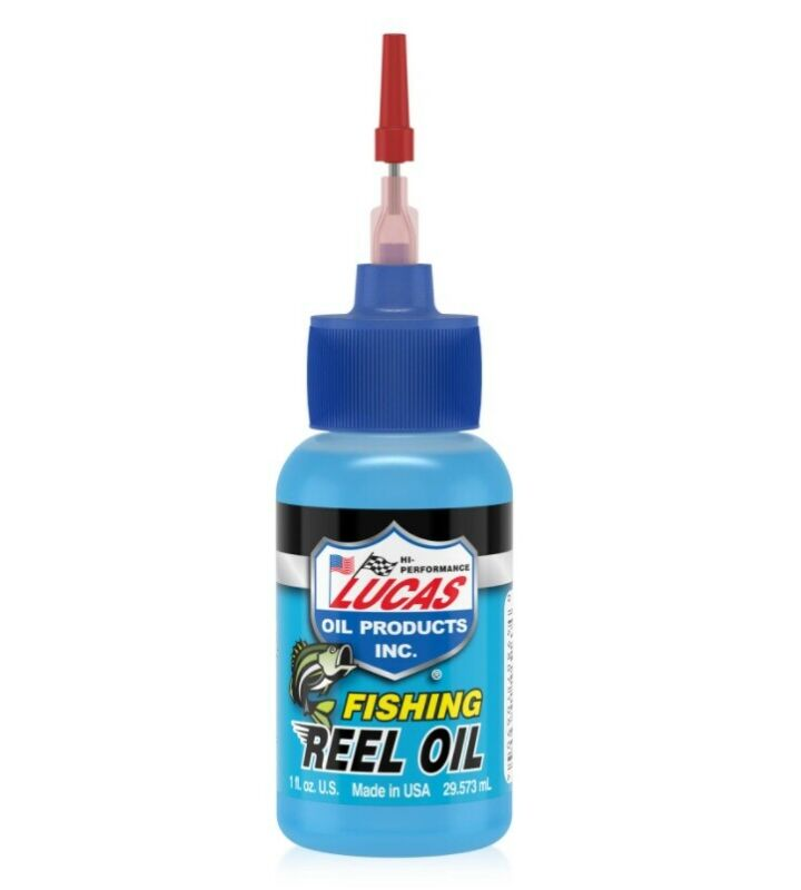 Lucas Oil 10690 Fishing Reel Oil Lubricant-Protect 1 Ounce Needle Oiler, 1 Pack