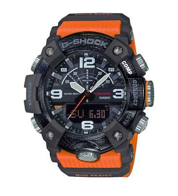 Casio G-SHOCK GGB100-1A9 Master of G Mudmaster Carbon Core 200m Men's Watch G-shock 200m World Time Watch