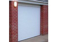 Electric roller shutter garage doors