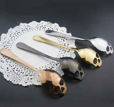 Lovely Sugar Skull Spoon Ware Stainless Steel For Coffee&TEA US