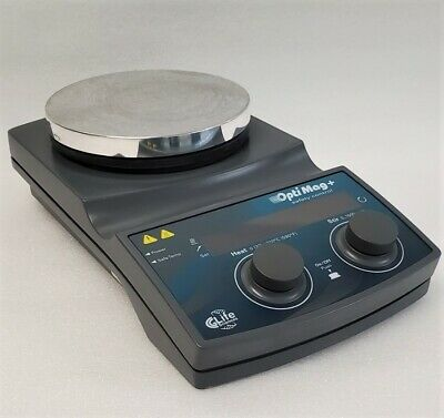 Chemglass Optimag Safety Control Digital Hot Plate Magnetic Stirrer