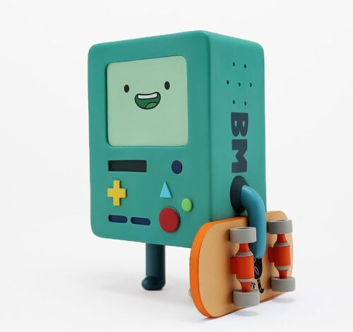Adventure Time BEEMO BMO Action Figure Collectible Toy with Skateboard Cute