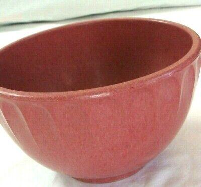 Vintage Boonton Melmac Melamine Red/Pink 2 QT. MIXING BOWL