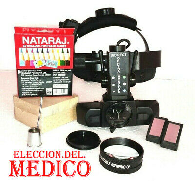 Binocular Indirect Ophthalmoscope With 20d Lens Ophthalmology Optometry Medico