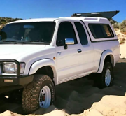 TOYOTA HILUX EXTRA CAB WHEEL ARCH FLARES SET OF Kippa-ring Redcliffe Area Preview