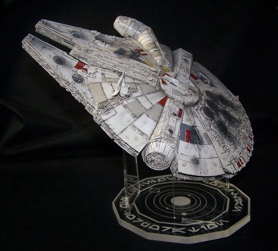 acrylic display stand for 1/144 Millennium Falcon Bandai or Fine Molds