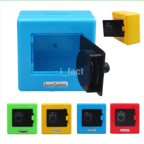 1pc Combination Lock Safe Piggy Bank Money Storage Secret Cash Box Coin Slot US