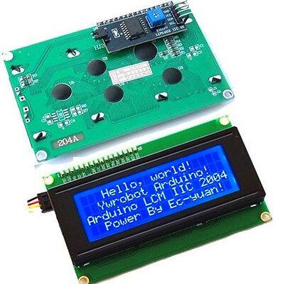 Iici2ctwispi Serial Interface2004 20x4 Character Lcd Module Display Blue