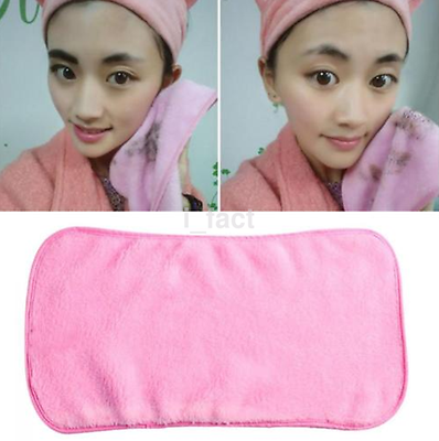 Reusable Makeup Remover Microfiber Facial Cloth Face Towel Cleansing Tool US