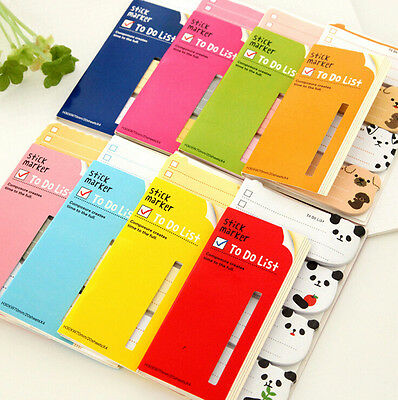 Cute To Do List Sticker Post Bookmark It Marker Memo Flags Index Tab Sticky Note