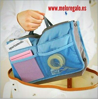 Organizador interno para bolso de mano, accesorio mujer. Envío a toda España